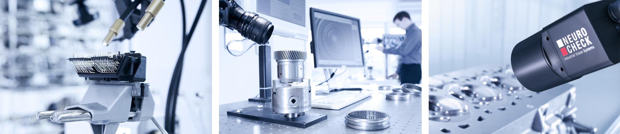 NeuroCheck Komponenten Kompaktkamera (Foto ©NeuroCheck)