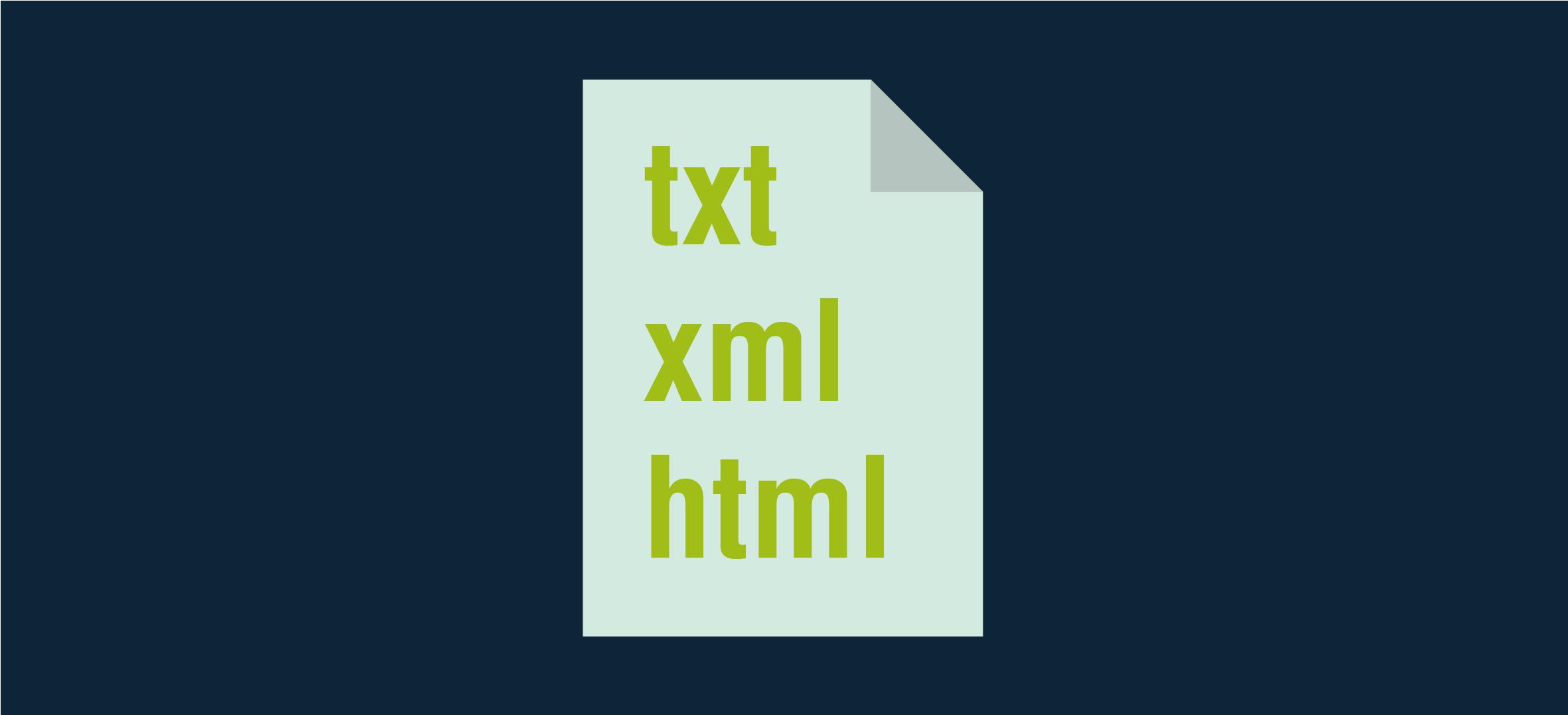 NeuroCheck Software Extension Data Format Converter txt, xml, html (Image © NeuroCheck)