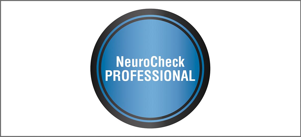 NeuroCheck Professional Edition (Image © NeuroCheck)