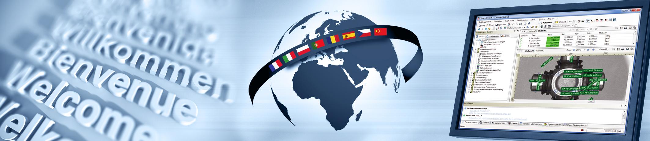 NeuroCheck Software Multilingual (Image © NeuroCheck)