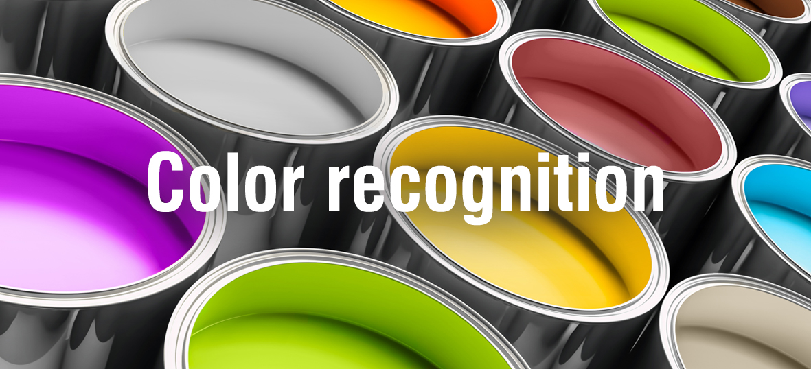 NeuroCheck Color Recognition (Image © designed by refresh(PIX) - Fotolia)