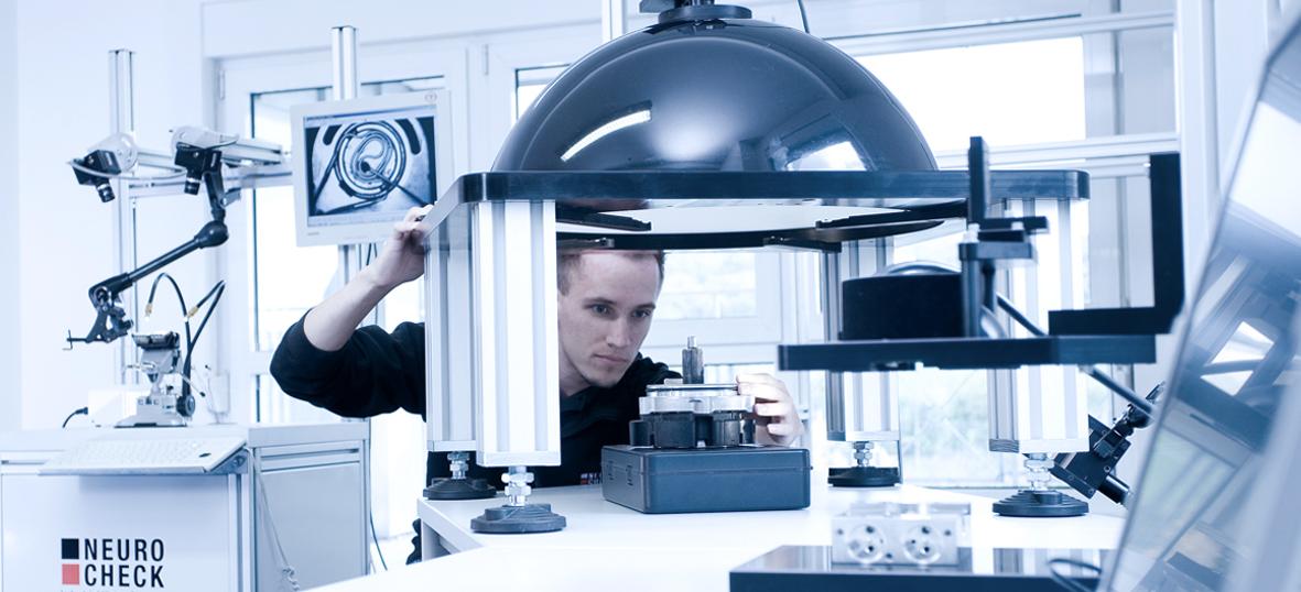 NeuroCheck Engagiert (Foto ©NeuroCheck)