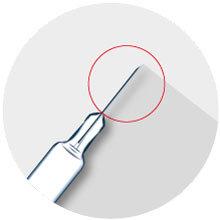 Nadelspitzenkontrolle (Abbildung © NeuroCheck)