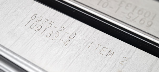 NeuroCheck Identification of embossed digits (Image © designed by dannyburn - Fotolia)