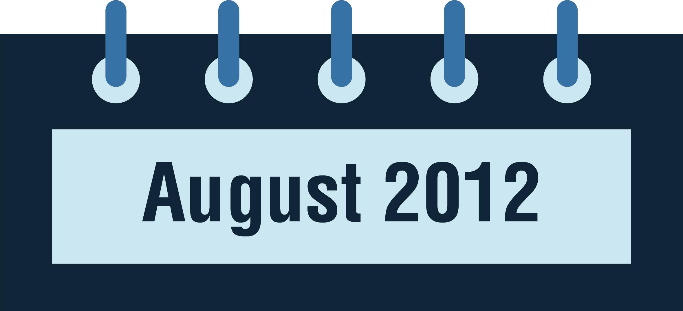 NeuroCheck History - August 2012 (Image © NeuroCheck)