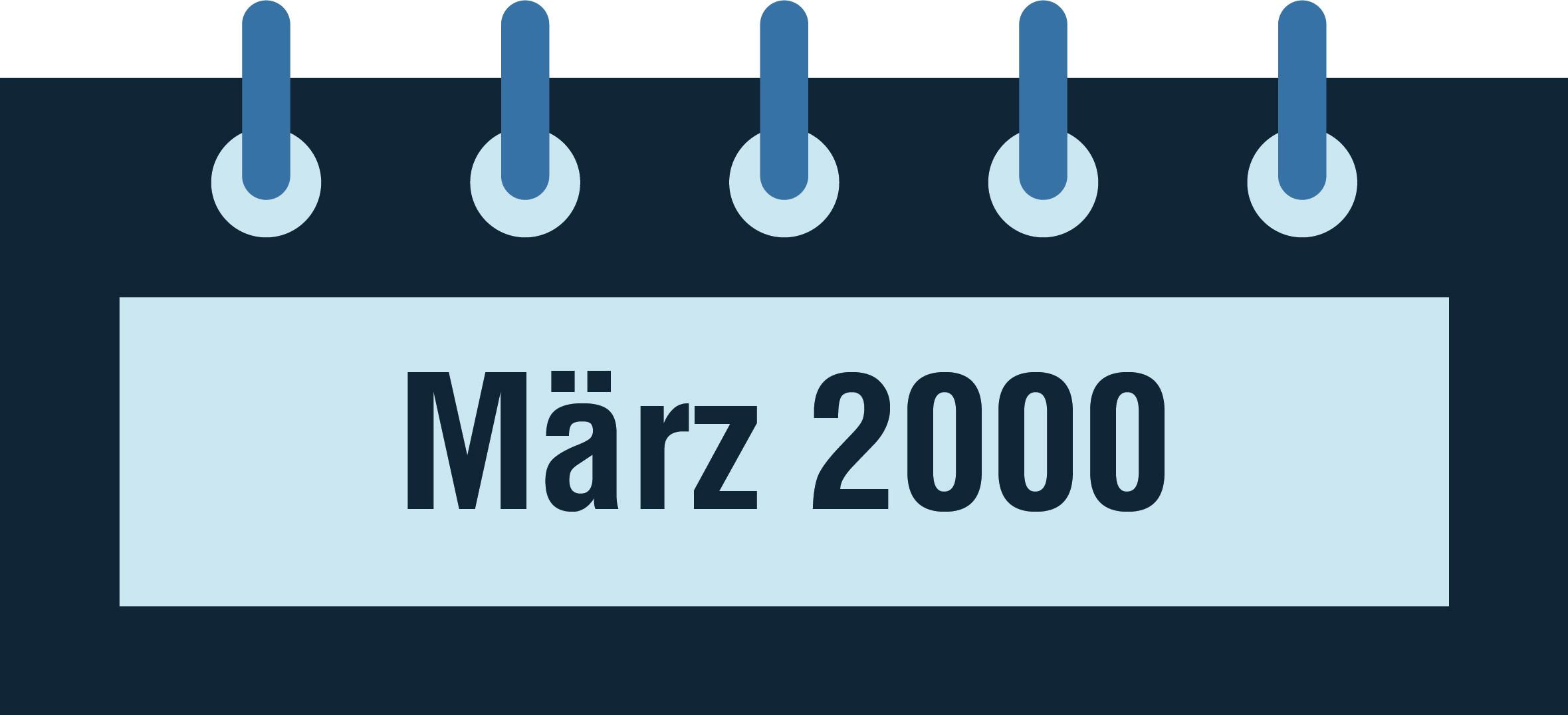 NeuroCheck Geschichte - März 2000 (Foto © NeuroCheck)