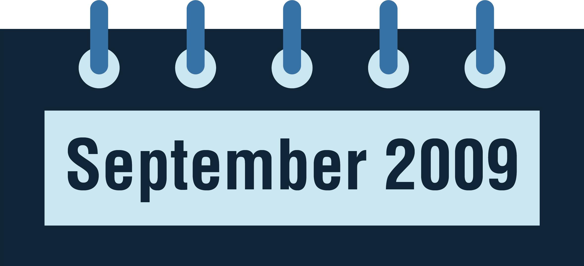 NeuroCheck History - September 2009 (Image © NeuroCheck)