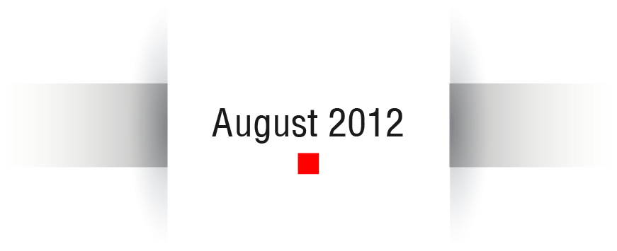 NeuroCheck History - August 2012 (Image © NeuroCheck)