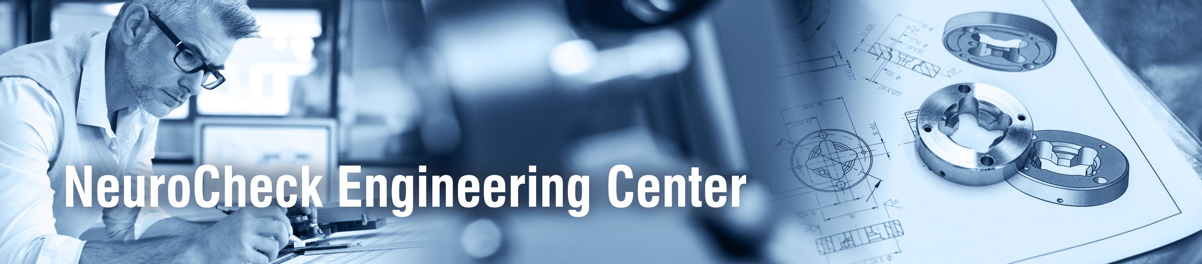 NeuroCheck Engineering Center (Image left © designed by goodluz - AdobeStock; right © ctvvelve - AdobeStock)