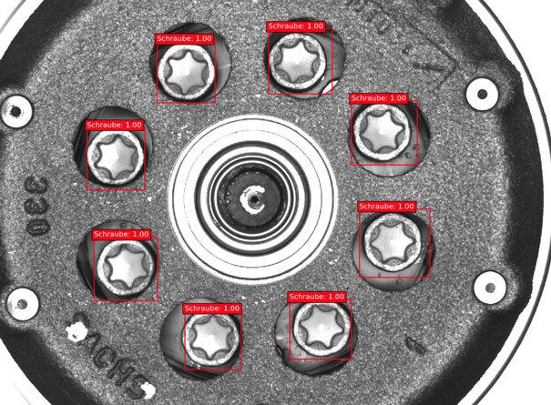 NeuroCheck Deep-Learning - Bildaufnahme mit Varianz (Abbildung © NeuroCheck)