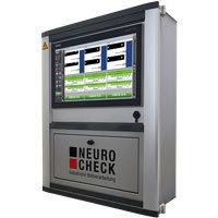 Bei NeuroCheck Auswertesystemen eingesetztes Panel System (Abbildung © NeuroCheck)