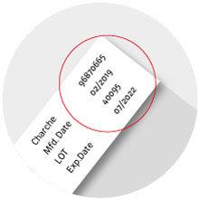 OCR-/Schrifterkennung bei der Verpackungskontrolle (Abbildung © NeuroCheck)